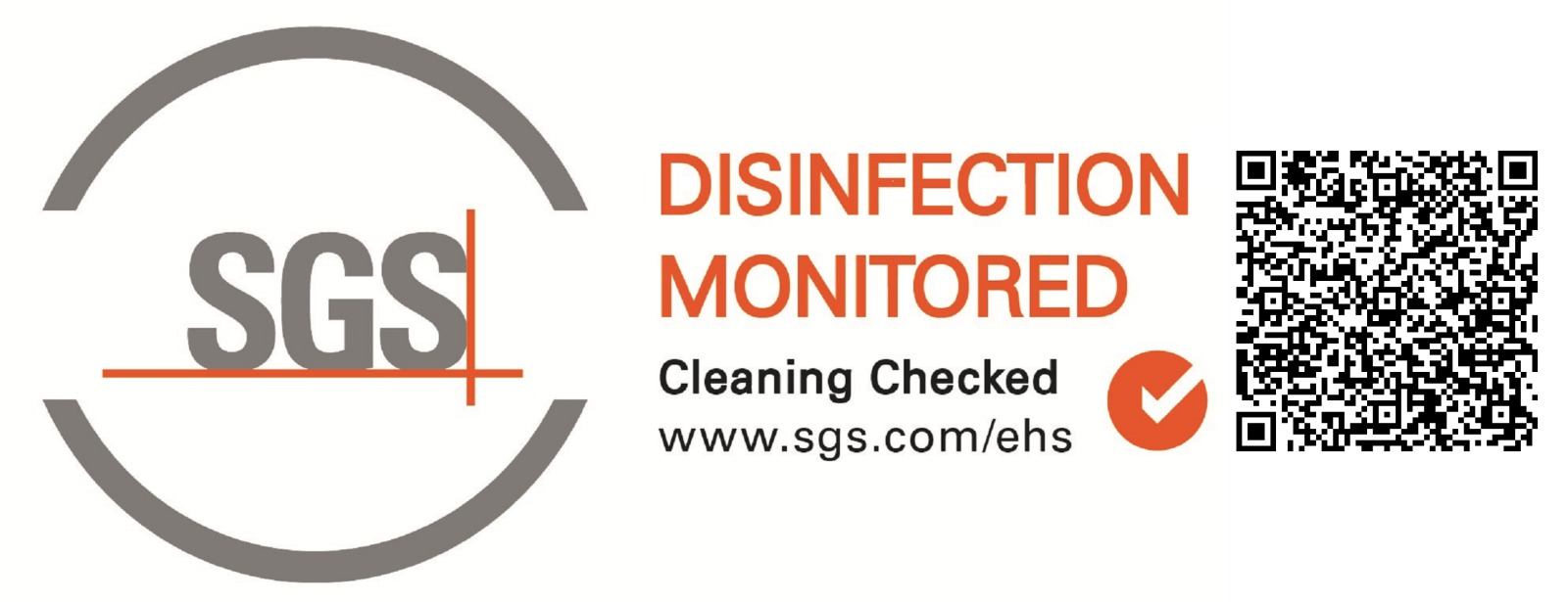 Disinfection Monitored SGS